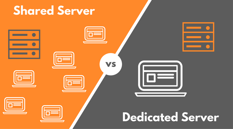Shared Server vs. dedizierter Server – wo liegt der Unterschied?